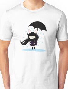 why does it always rain on me? Unisex T-Shirt