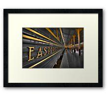 Trans Orient Express Framed Print
