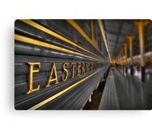 Trans Orient Express Canvas Print