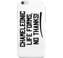 Chameleonic life forms - Light iPhone Case/Skin