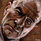 Patrick Stewart by Fay Helfer