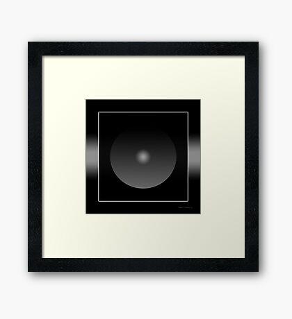 The God Particle Framed Print