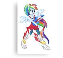 Rainbow Dash Rainboom Canvas Print