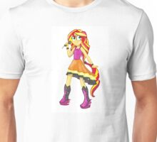 Sunset Shimmer Rainbow Rocks Unisex T-Shirt