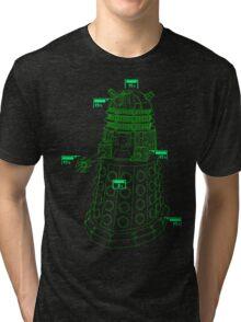 Exterminate the Robot - Dark Tri-blend T-Shirt