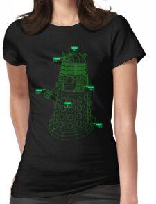 Exterminate the Robot - Dark Womens Fitted T-Shirt