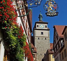 Rothenburg  - Weissesturm #2 2008 by David J Dionne