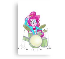 Pinkie Pie Rainbow Rocks Canvas Print