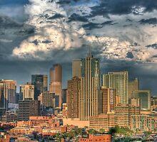 Denver Skyline at Sunset by greg1701