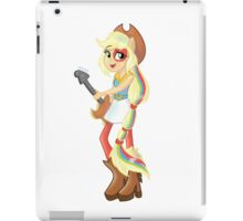 Applejack Rainbow Rocks iPad Case/Skin