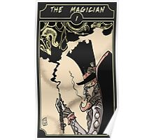 The Magician - Sinking Wasteland Tarot Poster