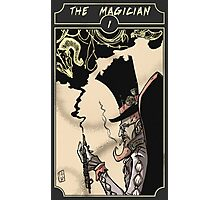 The Magician - Sinking Wasteland Tarot Photographic Print