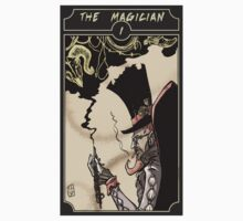 The Magician - Sinking Wasteland Tarot Kids Clothes