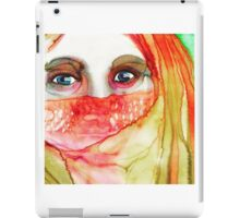 Mystery woman  iPad Case/Skin