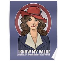 I Know My Value Poster