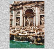 Trevi Fountain One Piece - Long Sleeve