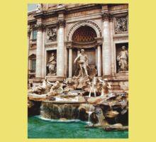 Trevi Fountain One Piece - Short Sleeve