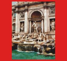 Trevi Fountain Baby Tee