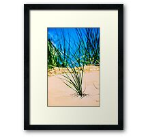 Standing Out In A Crowed Framed Print
