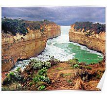 Loch Ard Gorge, The Shipwreck Coast, Victoria Poster