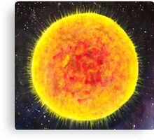 The Sun - Day 4 - 'Creation' Mural Canvas Print