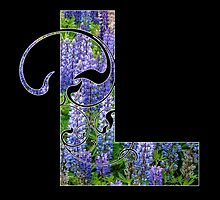 L is for lupin by Lenore Locken