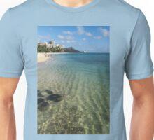 Waikiki Beach Sea and Sunshine Unisex T-Shirt