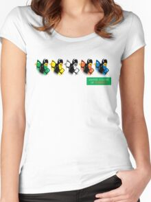 United colors of Kombat Women's Fitted Scoop T-Shirt