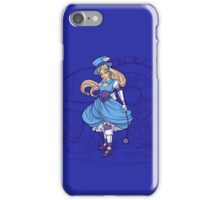 Steampunk Alice - Revised iPhone Case/Skin