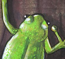 Frog detail - Day 7 - 'Creation' Mural by Selinah Bull
