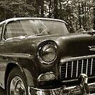 55 Chevy by Mattie Bryant