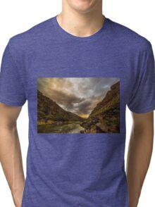 Taos Sunset Tri-blend T-Shirt