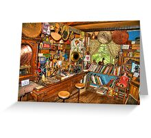 Collectibles Greeting Card