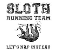 Sloth Running Team by AmazingMart
