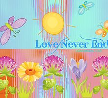 Love Never Ends by June Holbrook