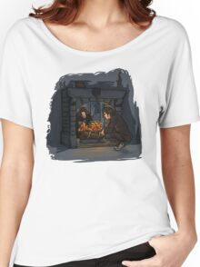 The Witch in the Fireplace Women's Relaxed Fit T-Shirt