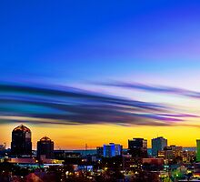The Color of Downtown Albuquerque by IOBurque