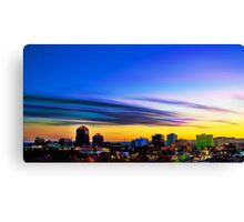 The Color of Downtown Albuquerque Canvas Print