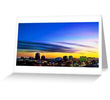 The Color of Downtown Albuquerque Greeting Card