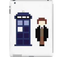 Pixel 8th Doctor and TARDIS iPad Case/Skin