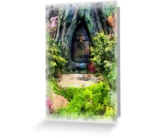 Gnome Away From Home Greeting Card