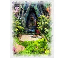 Gnome Away From Home Photographic Print
