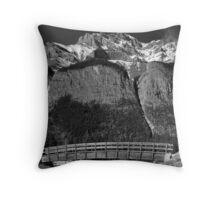 Mt. Cascade - Banff National Park Throw Pillow