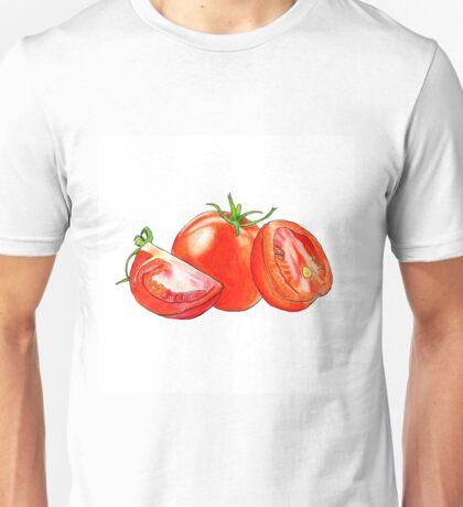 Sliced Tomatoes Unisex T-Shirt