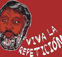 (Polka Dot) Zizek : Viva la Repeticion ! by petitnicolas