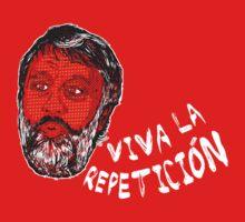 (Polka Dot) Zizek : Viva la Repeticion ! Kids Tee