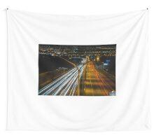 Light Highway Wall Tapestry