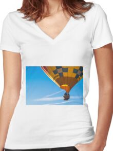 Balloon Fun Women's Fitted V-Neck T-Shirt