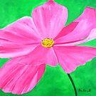 A Pink Flower by BenPotter