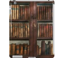 Librarian - In the library iPad Case/Skin